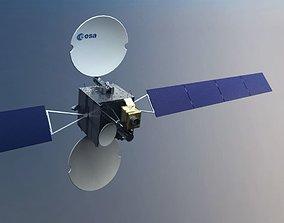 3D Orbiting Satellite