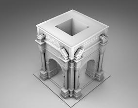 Greek arch 3D printable model