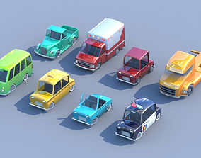 3D model Toycar Pack collection