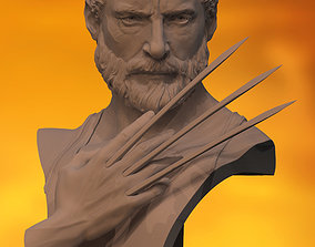 Hugh Jackman Logan Wolverine 3D print model