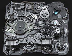 Mechanism Animated 3D model
