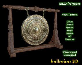 Big Gong - PBR - Textured 3D model