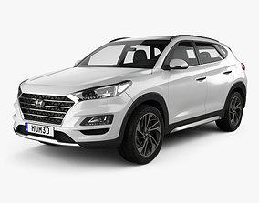 Hyundai Tucson 2018 3D