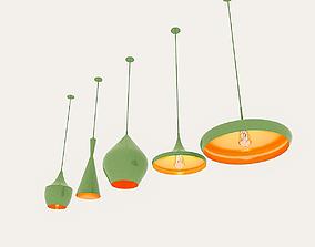 3D asset Loft Ceiling Lamp Collection