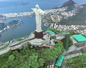 Christ The Redeemer 3D model