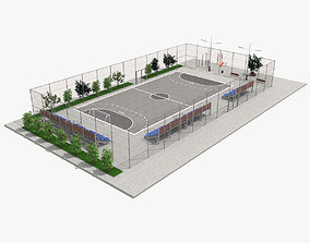 3D model Street Stadium
