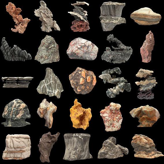 Suiseki Stone Collection