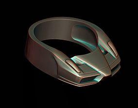 car ring 29 3D print model