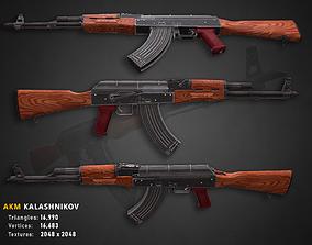 AKM Kalashnikov AK 47 3D model