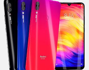 3D Xiaomi redmi note 7