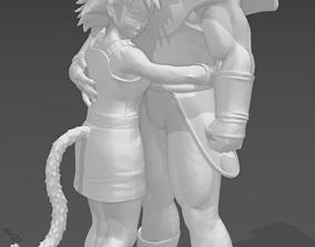 Farewell Goku - Gine and Bardock DBS 3D printable model