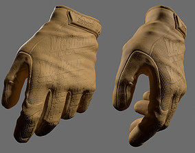 3D Military Gloves HP - ZBRUSH FILE