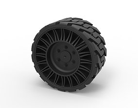 3D printable model Diecast Twheel from Front loader