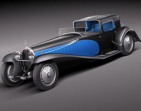 Bugatti Type 41 Royale Coupe Napoleon 3D model