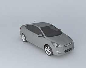 2012 Hyundai Accent - Solaris 3D model