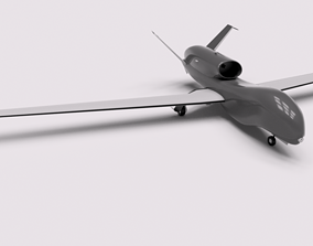 3D print model RQ-4-GLOBAL-HAWK