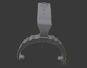 Headphones part for Philips SBC HP200 3D print model