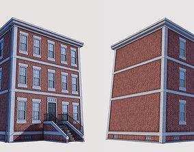 Boston Building 01 3D model