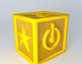 3D cube symbols