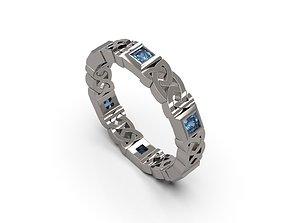3D printable model Celtic Band Ring 02