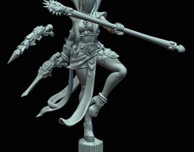 3D print model girl Elven Carnivale Darkseer