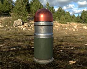 3D model Free 40mm grenade - M433