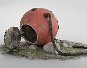 The abandoned rescue capsule 01 3D