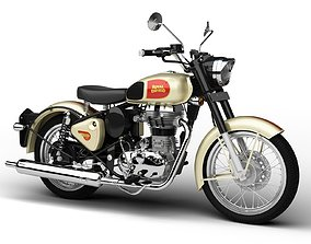 Royal Enfield Classic 500 2016 3D model