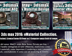 Iray piu 3dsmax 2016 vMaterial Collection Vol 8 9 10 Cd 1