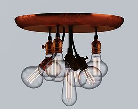 3D Steampunk Style Lamps