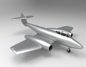 gloster meteor 3D