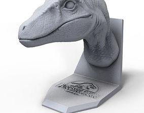 3d raptor Bust