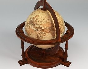 Textured Antique Globe 3D printable model