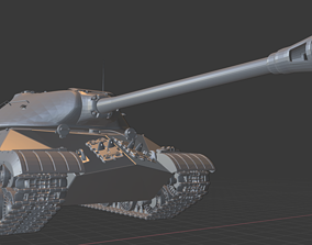 3D print model IS 3 Tanks