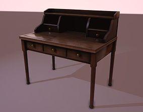 3D asset Writing Desk