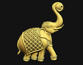 3D print model Indian Elephant Welcome Art