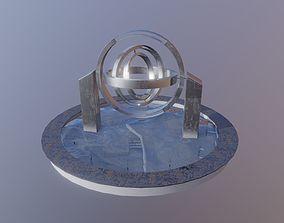 3D model tiempo Museo De Los Relojes - Sculpture