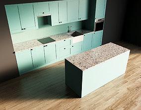 118-Kitchen10 matte 10 3D model