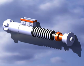 sabre laser luke skywalker 3D printable model