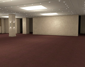 3D asset Hotel Conference Hall