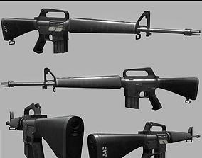 Colt ArmaLite AR-15 model 602 PBR Game-Ready game-ready
