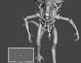 3D printable model AVP Alien Queen Full Body Highly Detail