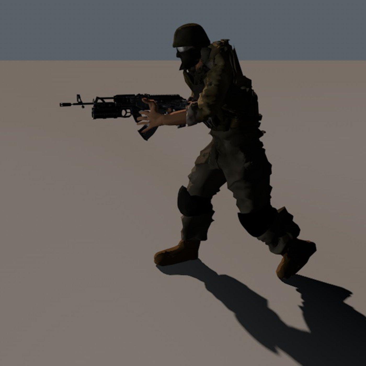 Haqui soldier