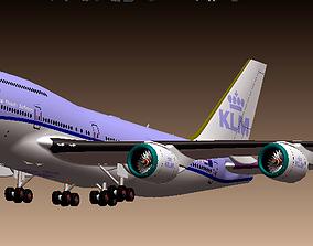 3D Boeing 747-400