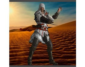 Assassins Creed Ezio toys 3D print model