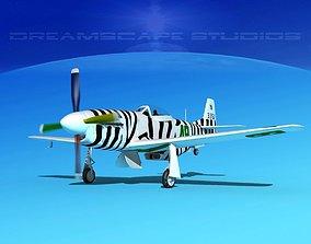 P-51 Mustang Sport V11 3D model