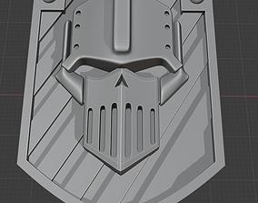 Iron Warrior badge 3D printable model