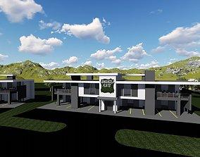 3D asset Guest Houses