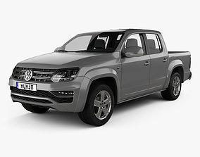 3D Volkswagen Amarok Crew Cab 2016