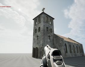 Church 3D asset